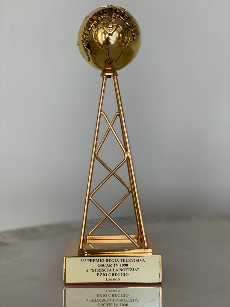 30 premio regia televisiva Oscar TV striscia la notizia ezio greggio 1990