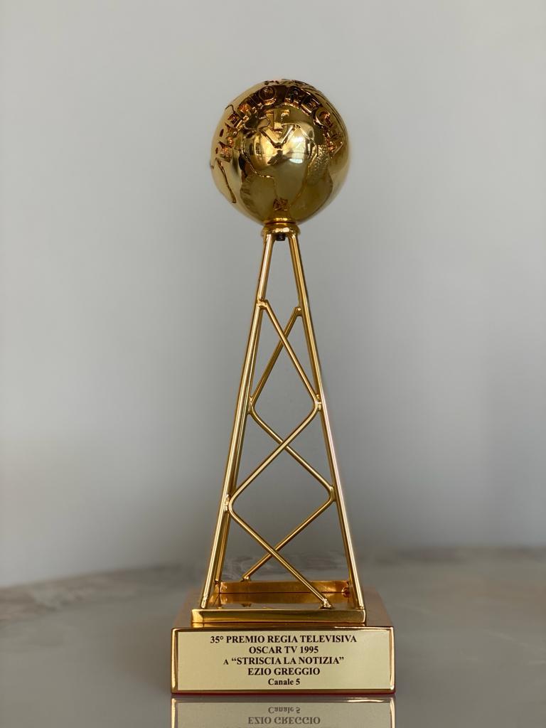 35° Premio Regia televisiva. Oscar TV Striscia la notizia Ezio Greggio 1995