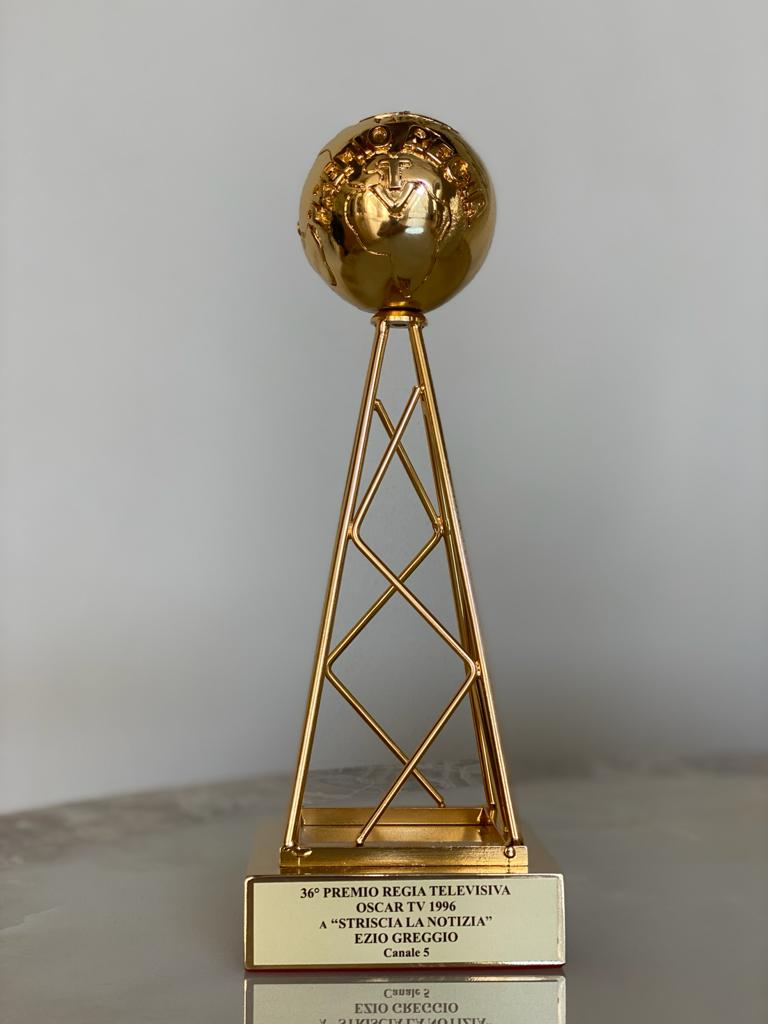 36° Premio Regia televisiva. Oscar TV Striscia la notizia Ezio Greggio 1996