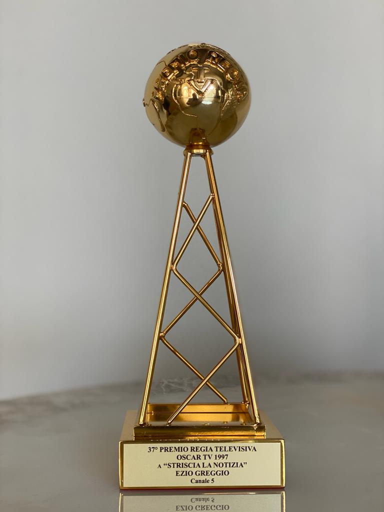 37° Premio Regia televisiva. Oscar TV Striscia la notizia Ezio Greggio 1997