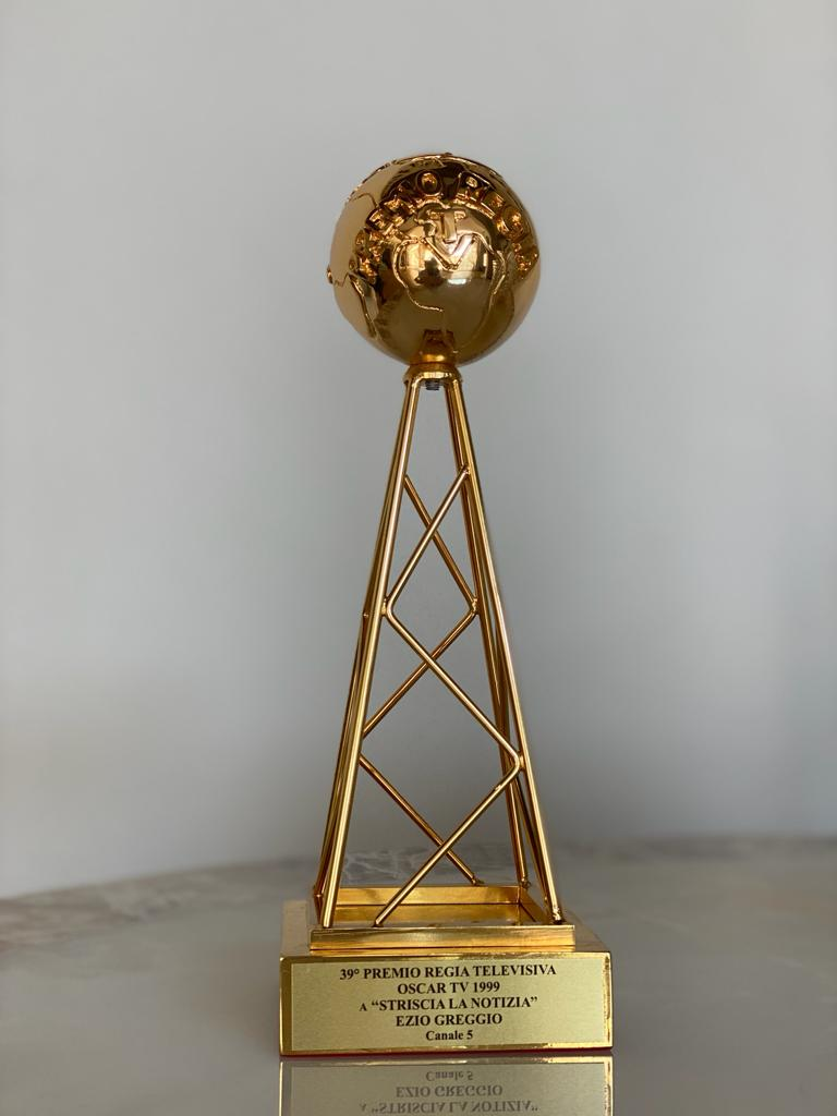39° Premio Regia televisiva. Oscar TV Striscia la notizia Ezio Greggio 1999
