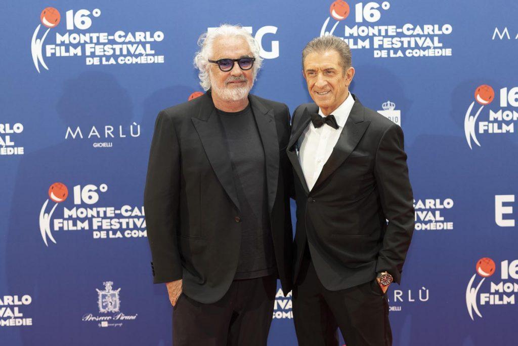 Briatore sul red carpet