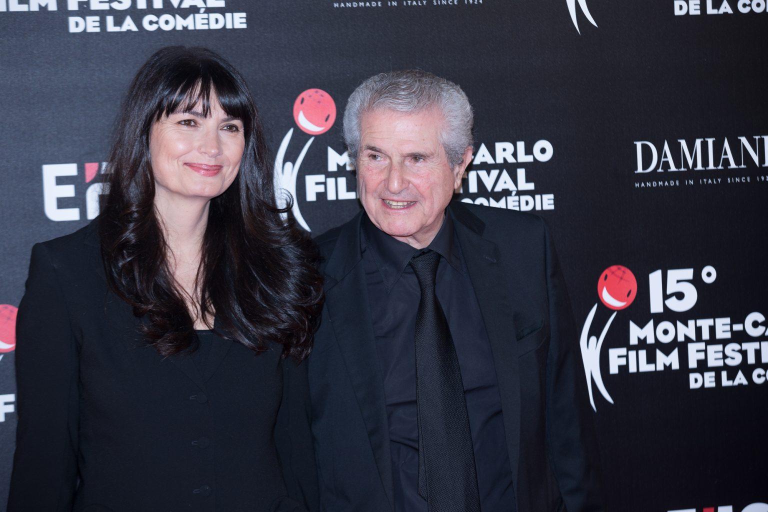 Claude Lelouch e la moglie