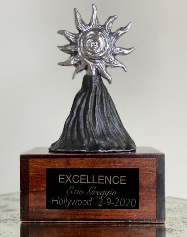 Excellence Award Los Angeles 9 Febbraio 2020