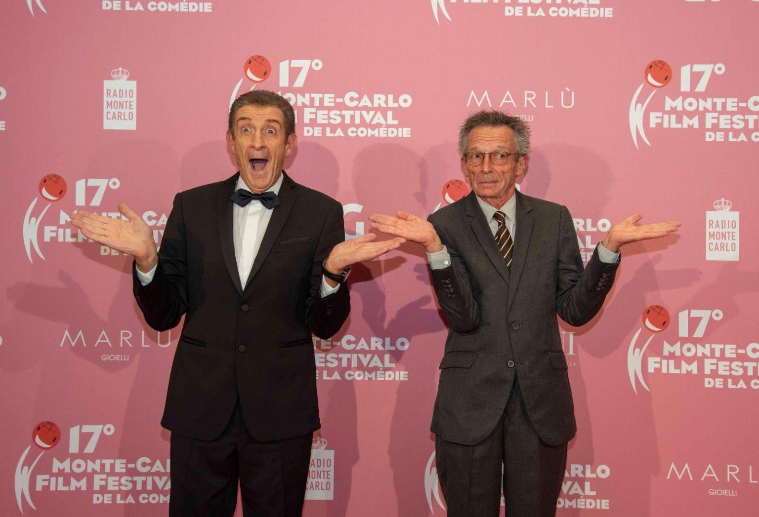 Ezio Greggio con il grande regista francese Patrice Leconte