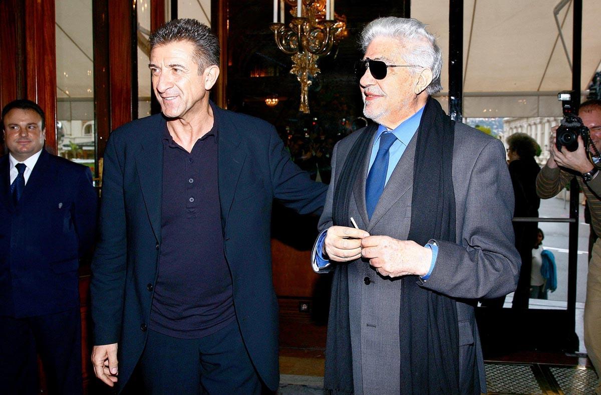Ezio Greggio e Ettore Scola alla 70° edizione del Festival di Venezia