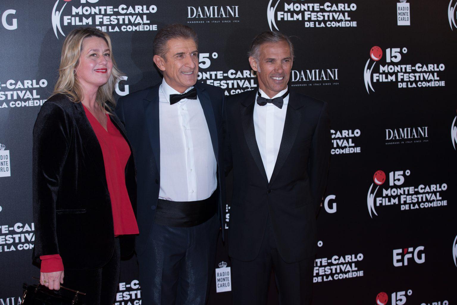 Ezio con Luana e Paul Belmondo