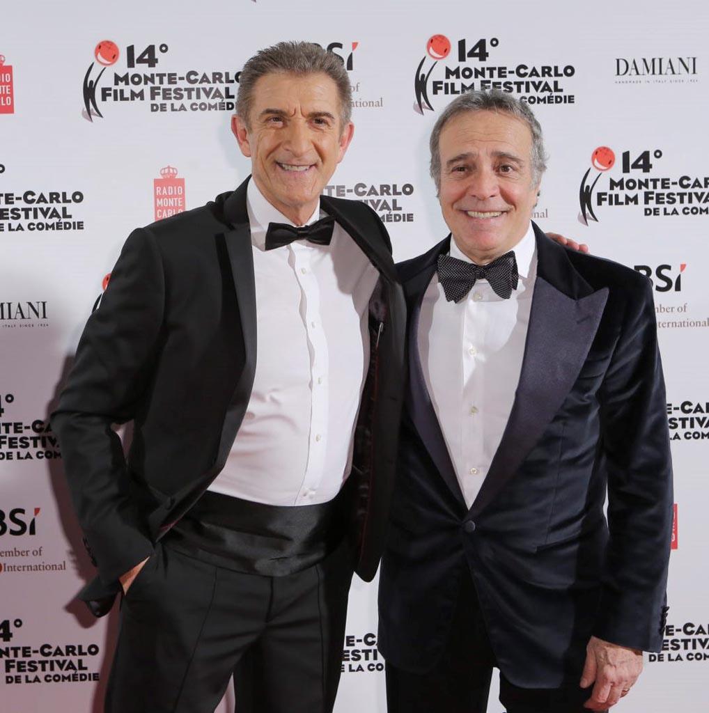 Ezio Greggio con Enrico Montesano