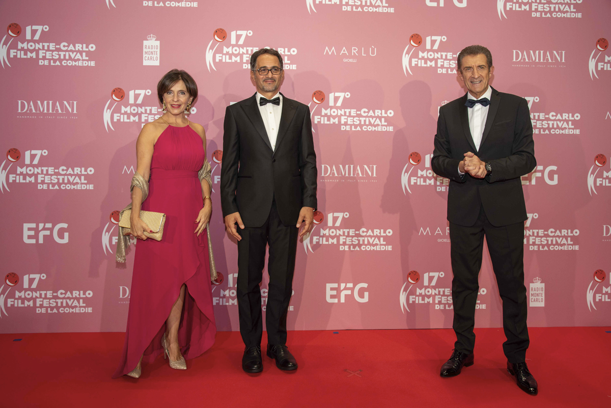 Ezio e l'ambasciatore italiano a Monaco S.E. Giulio Alaimo e Sig.ra