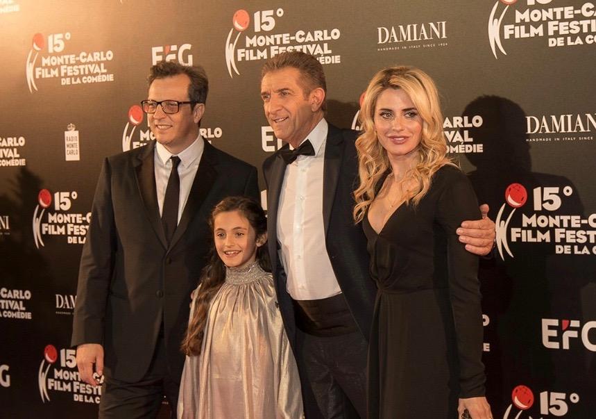 Gabriele Muccino e la sua famiglia