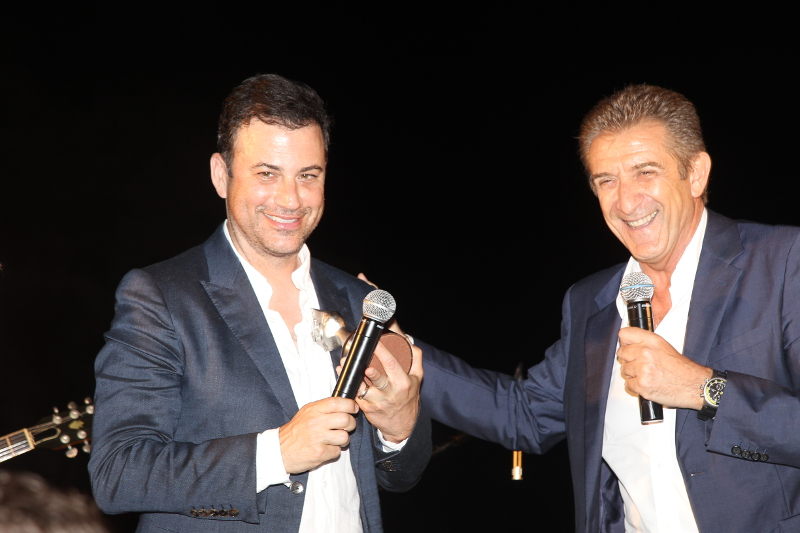 GREGGIO E KIMMEL PREMIATI ALL'ISCHIA GLOBAL FEST