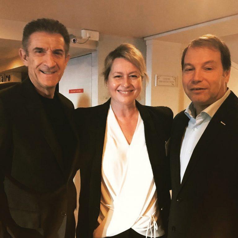 con Luana Belmondo e Fulvio Gazzola