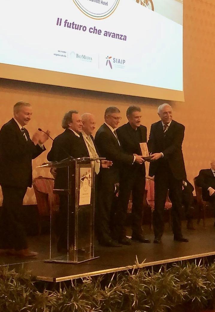 Milano, il momento della premiazione