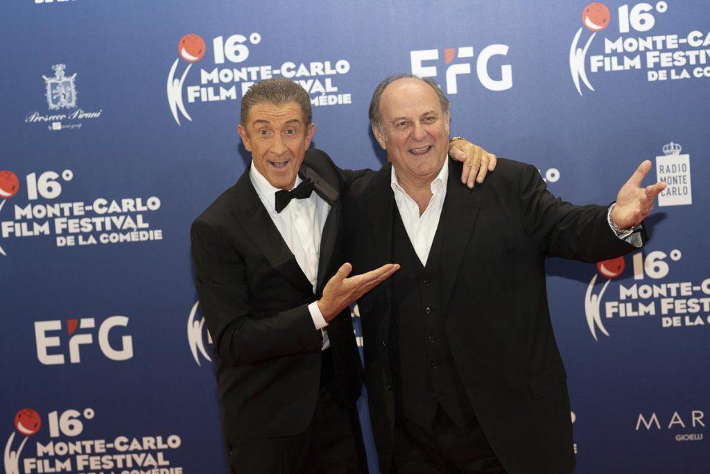 Gerry Scotti e Ezio Greggio