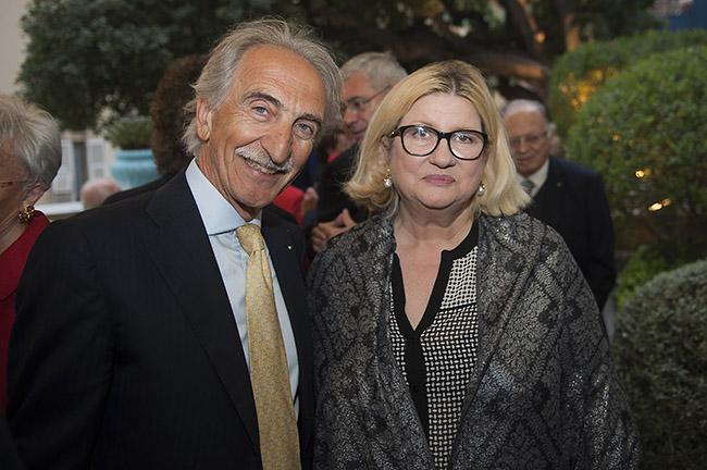 Giuseppe Sarno e Signora