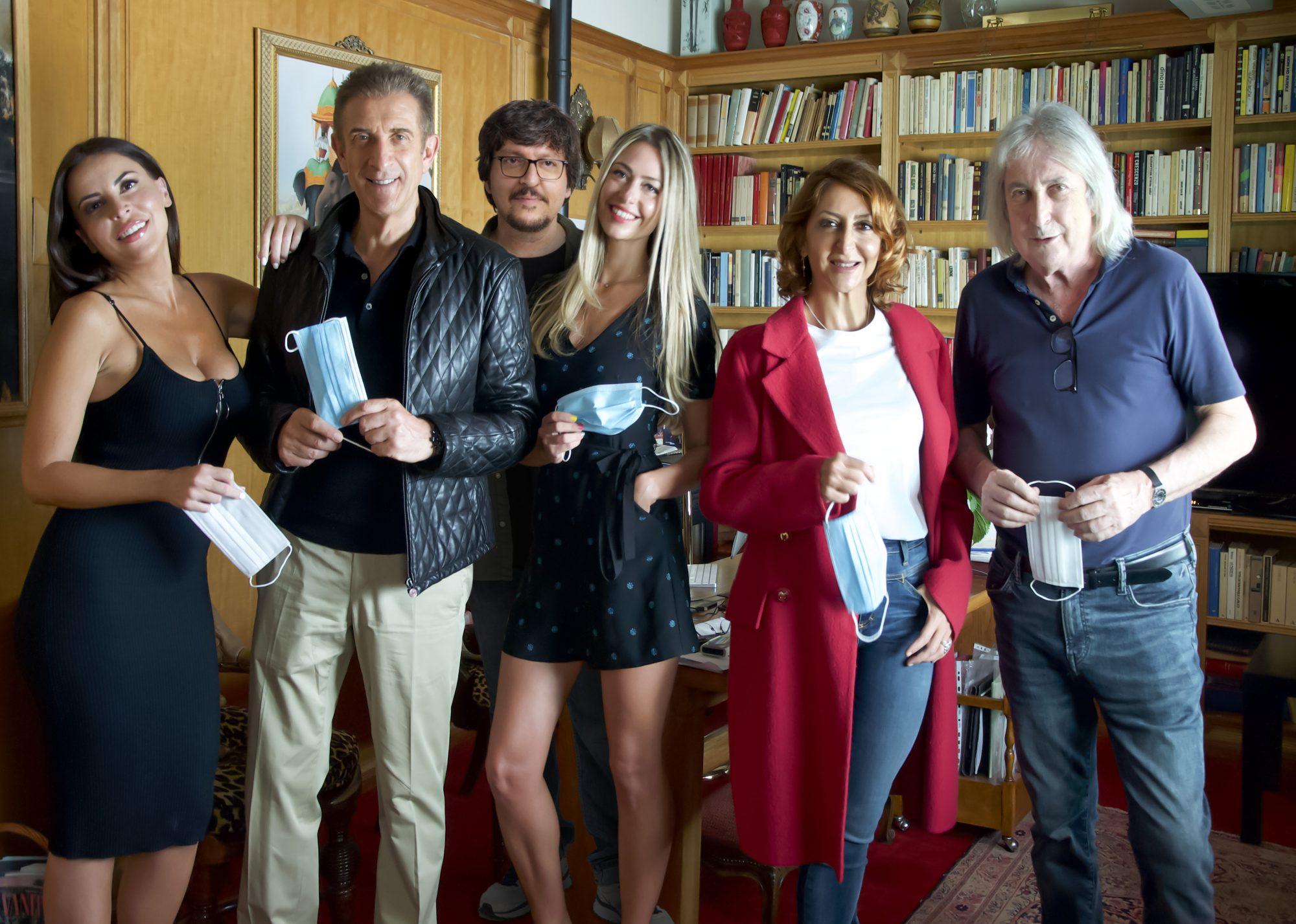 Il cast di Lockdown all'italiana
