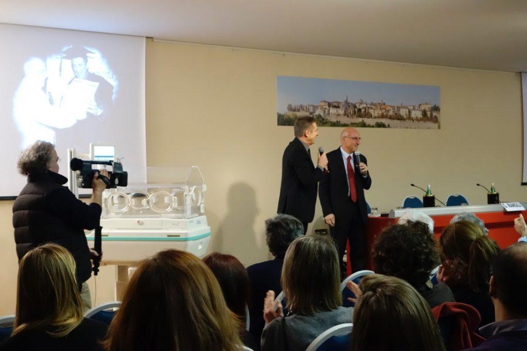 La conferenza con il Prof Fabio Mosca