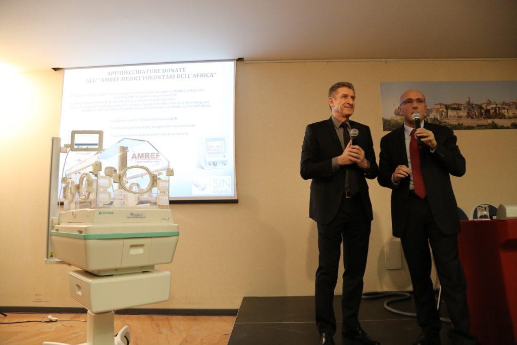 La presentazione con il Prof Mosca
