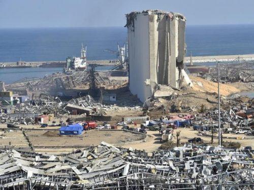 Libano esplosione