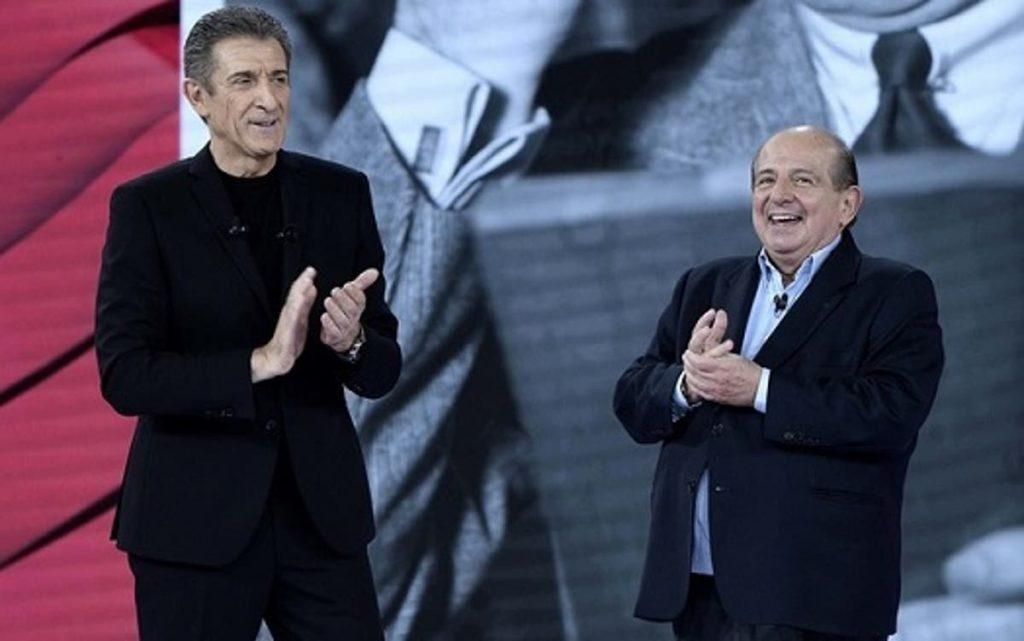 Giancarlo Magalli con Ezio Greggio