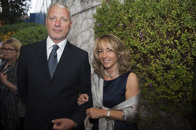 Michela Devoto Rosso e marito