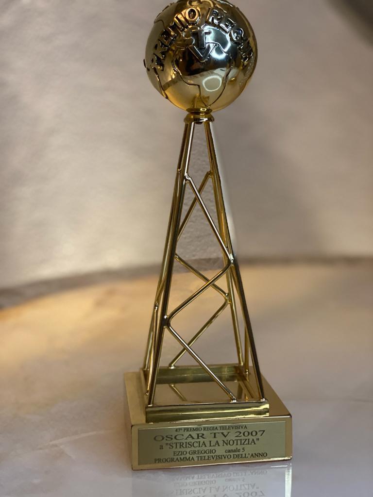 """Oscar TV, Programma dell'Anno """"Striscia la Notizia"""", SanRemo 2007"""