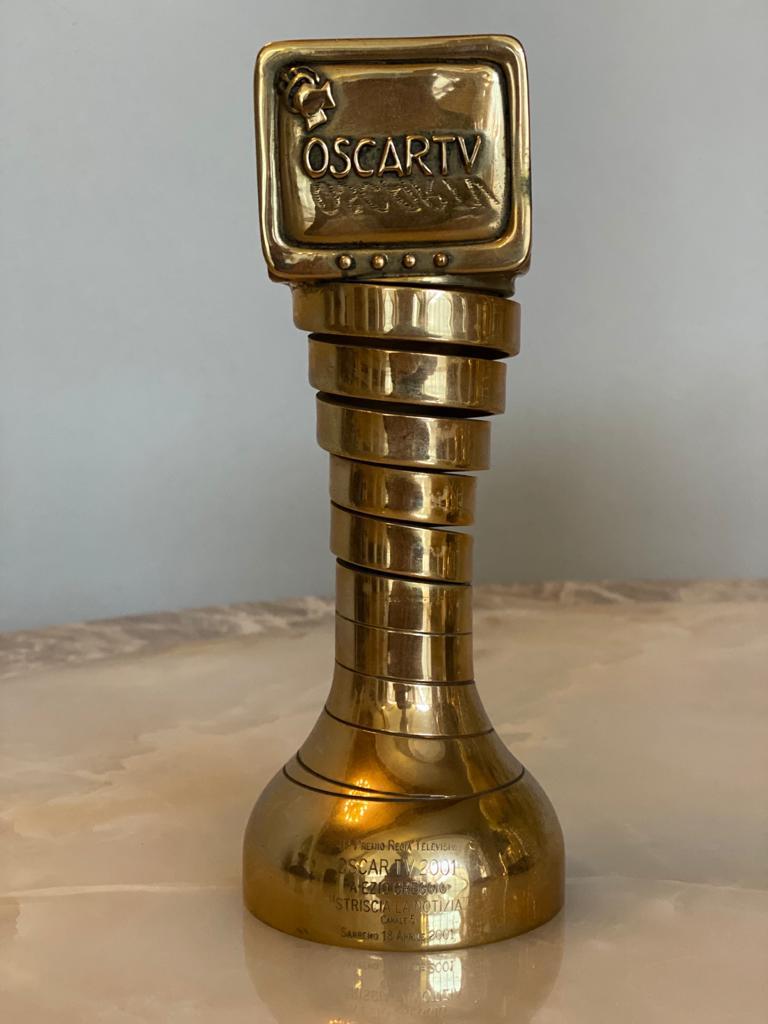 "Oscar Tv ""Striscia la Notizia"", San Remo 18 aprile 2001"
