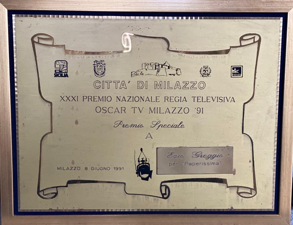 Oscar Tv per Paperissima 1991