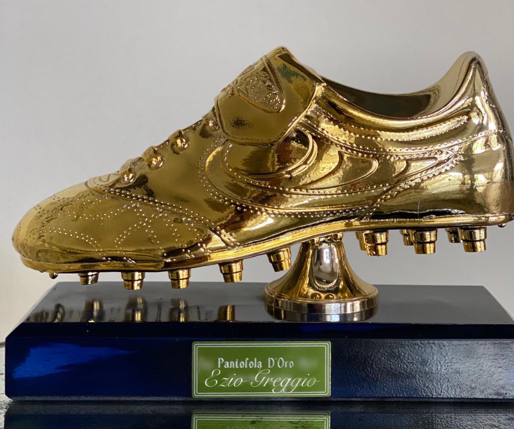 Pantofola d'oro vincitore Campionato 1989-90 Milano 3 Basiglio