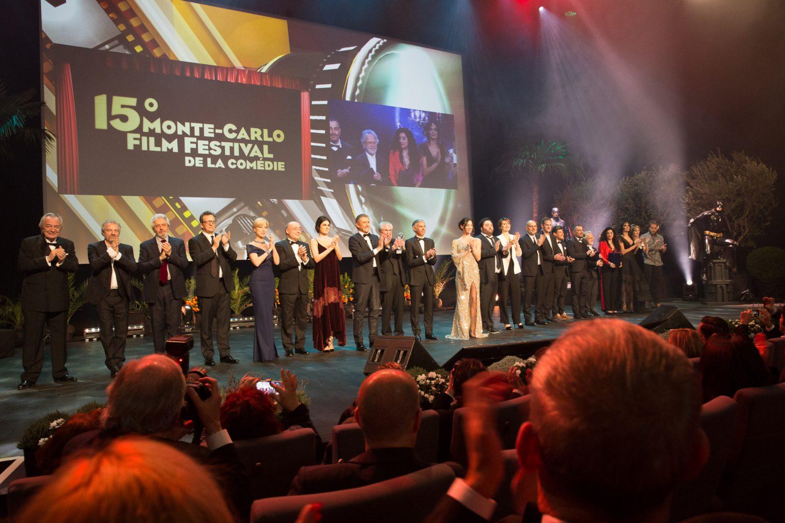 Premiati e premiatori serata finale