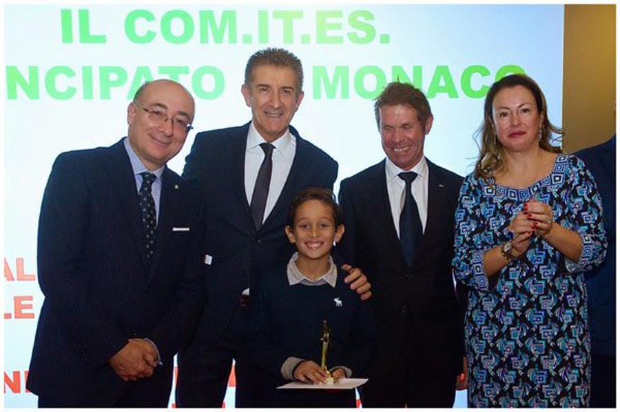 Premiazione studenti con S.E. ambasciatore Gallo