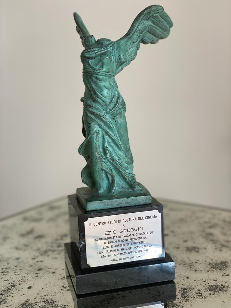 """Premio Cultura Cinema, Roma 30 ottobre 1991 per """"Vacanze di Natale 90"""" maggior incasso italiano"""