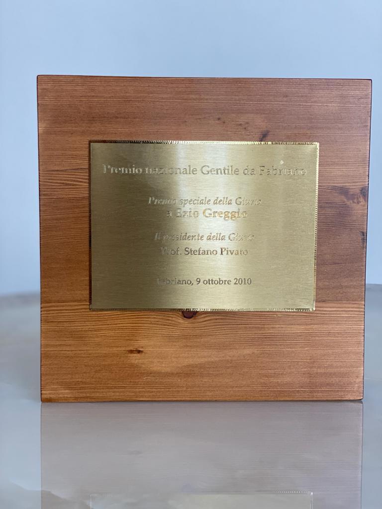 Premio Gentile da Fabriano, 9 ottobre 2010