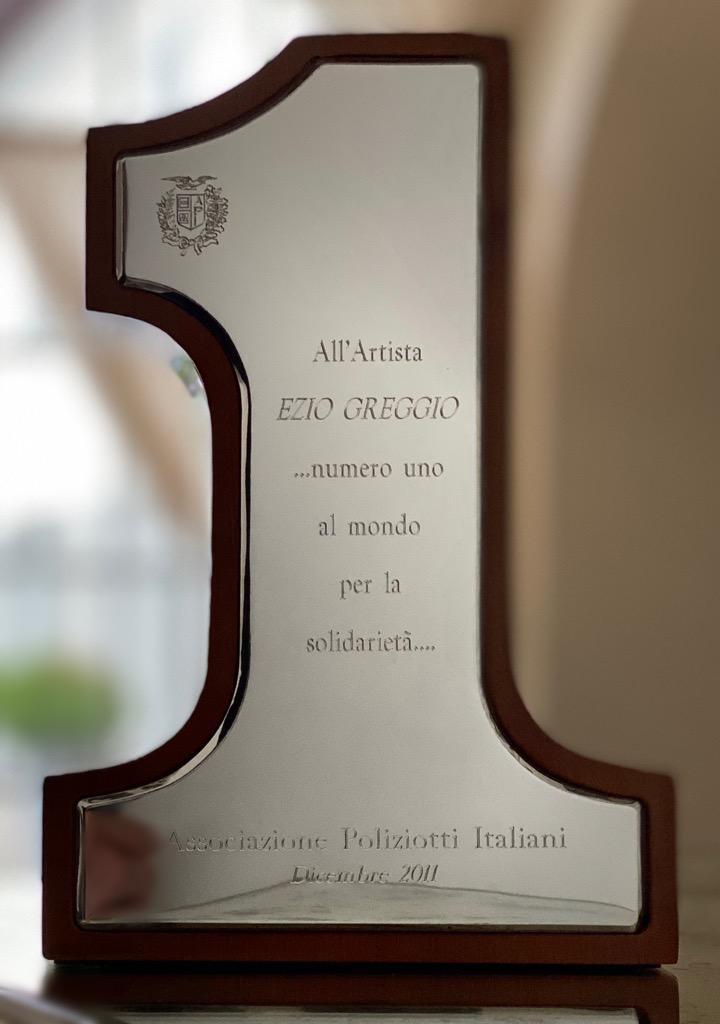 Premio N.1 Assoc. Poliziotti Italiani Dicembre 2011