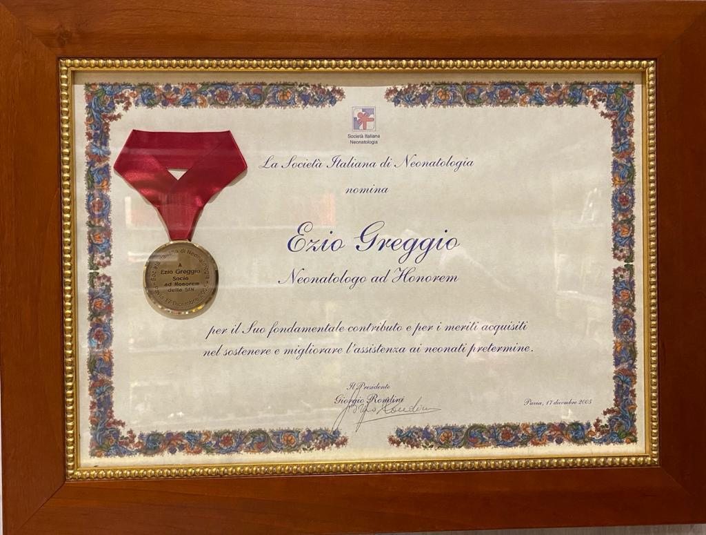 Premio Neonatologo ad honorem 2005