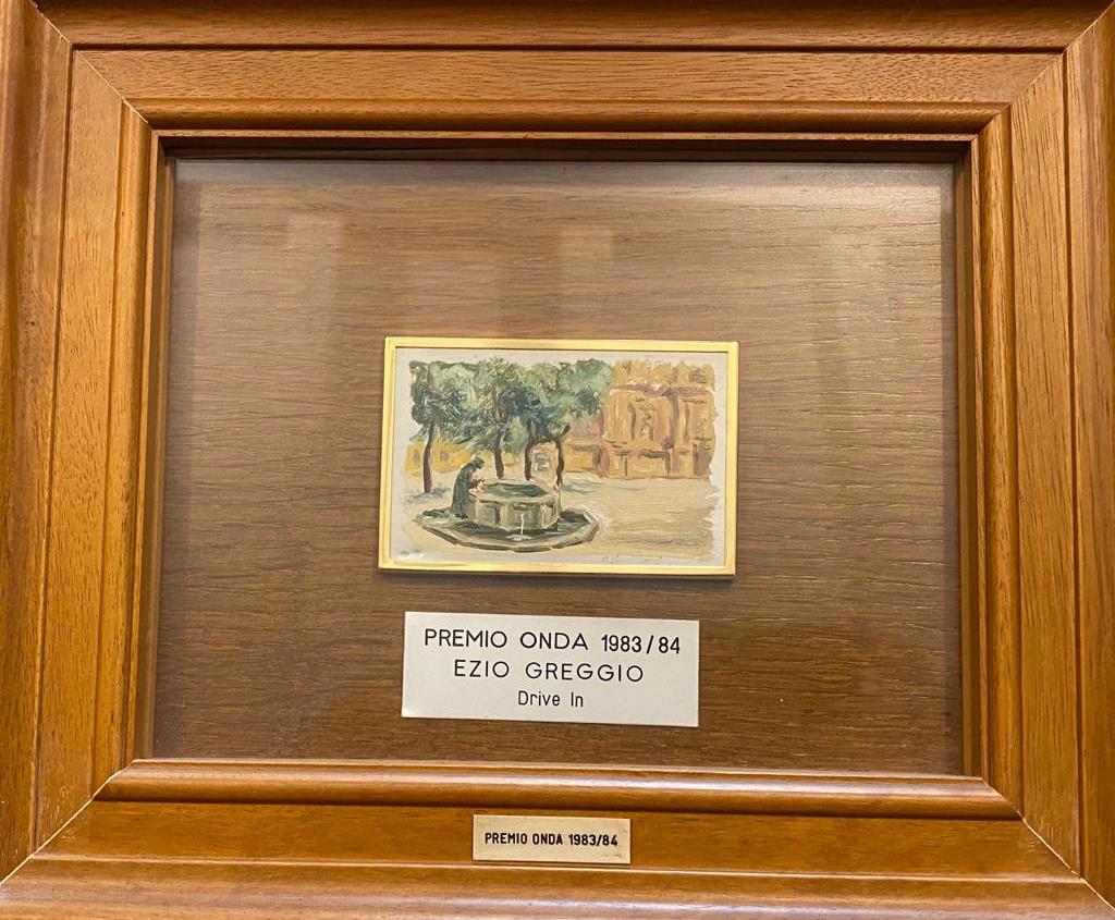 Premio Onda 1983-84 Ezio Greggio Drive In