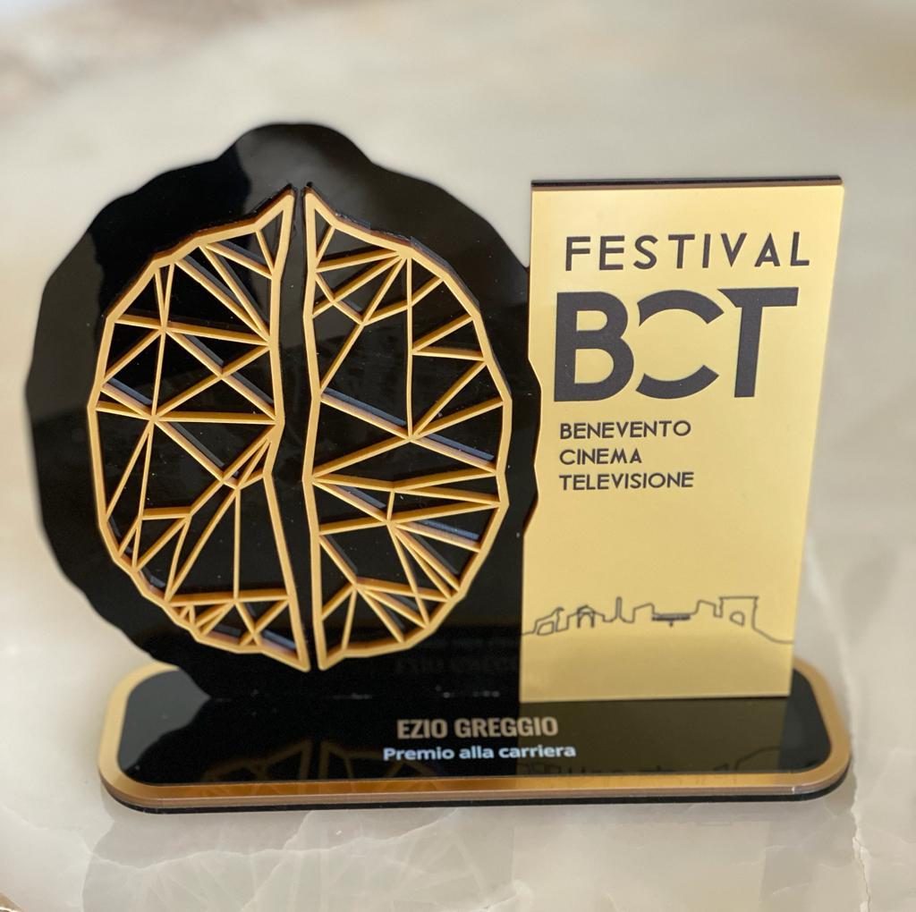 Premio alla Carriera al Benevento Cinema Televisione