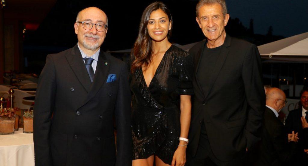 S.E. Cristiano Gallo con Ezio e Romina