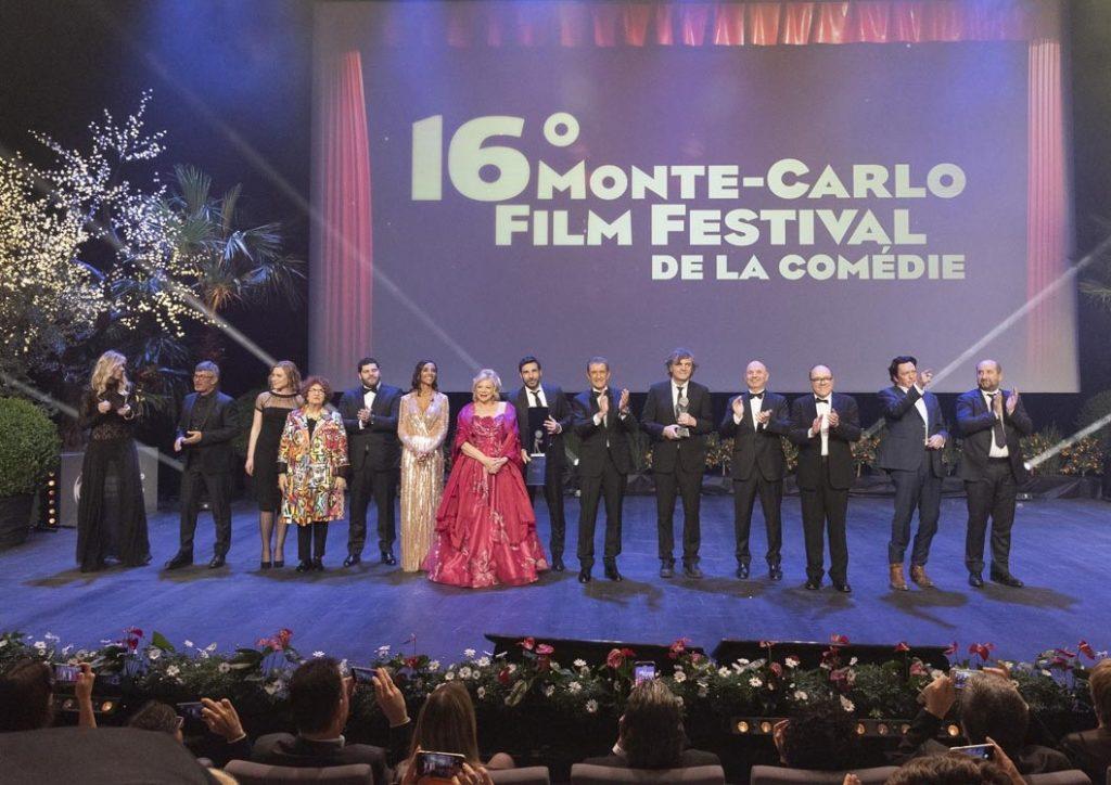 Saluti finali al gala del Monte-Carlo Film Festival