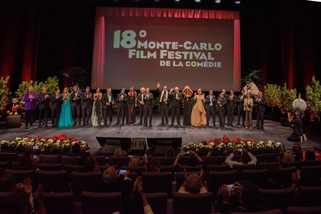 GRANDE SUCCESSO ED ECO MONDIALE PER IL 18° MONTE-CARLO FILM FESTIVAL DE LA COMÉDIE