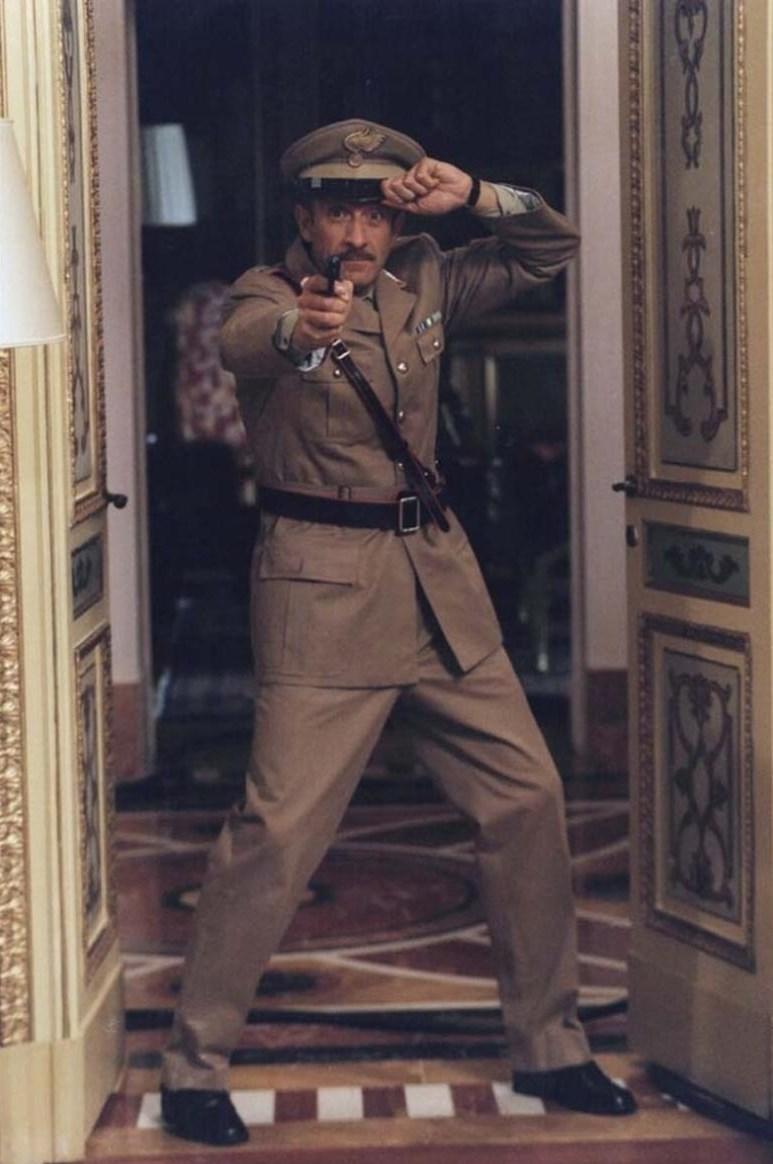 Ezio in azione nel film