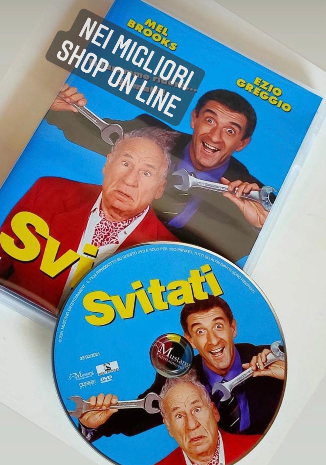 """USCITO IN DVD """"SVITATI"""" IL FILM CON MEL BROOKS ED EZIO"""