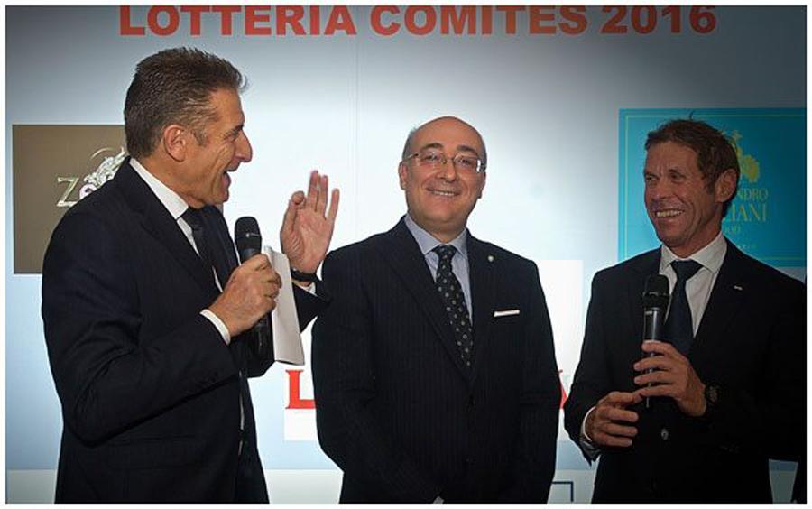Con l'ambasciatore Cristiano Gallo e l'assessore Pastor del comune di Montecarlo
