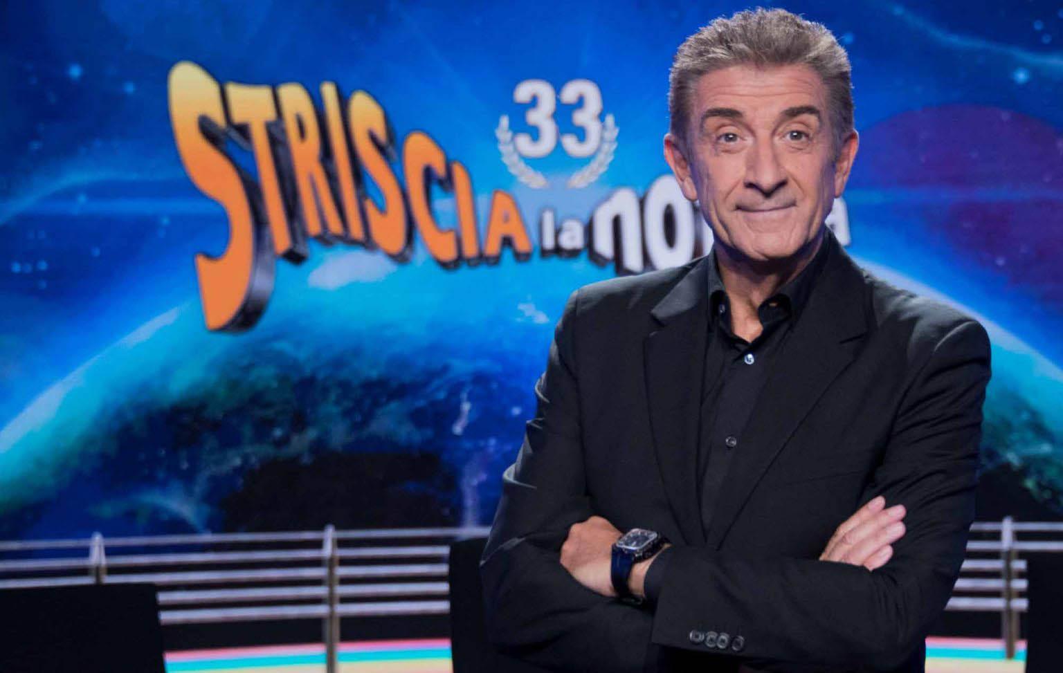 EZIO GREGGIO TORNA A STRISCIA