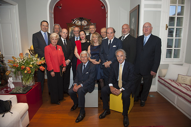 Gruppo Comites col Primo Ministro Telles