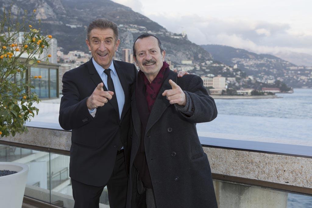 Rocco Papaleo con Ezio