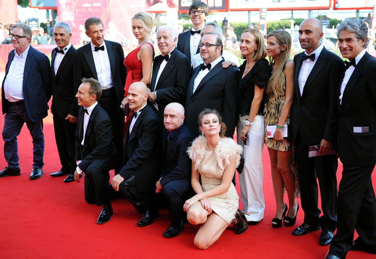 Gli attori di Box Office sul Red Carpet